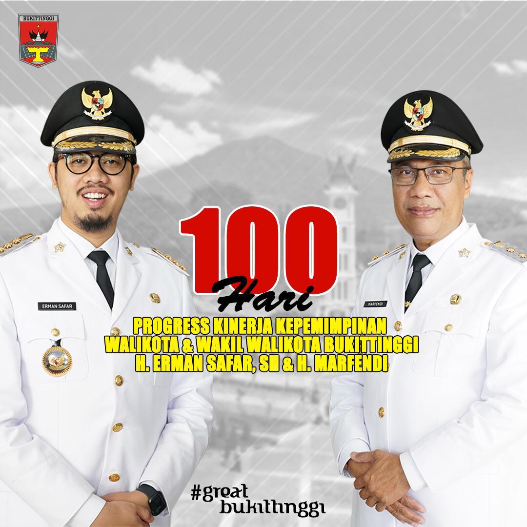 100 Hari Kerja Pemko Bukittinggi